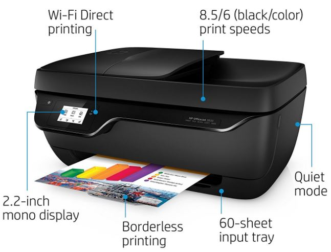 hp officejet 3833 all in one printer manual