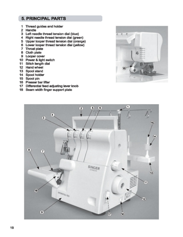 owner manual for model e99670 singer sewing machine