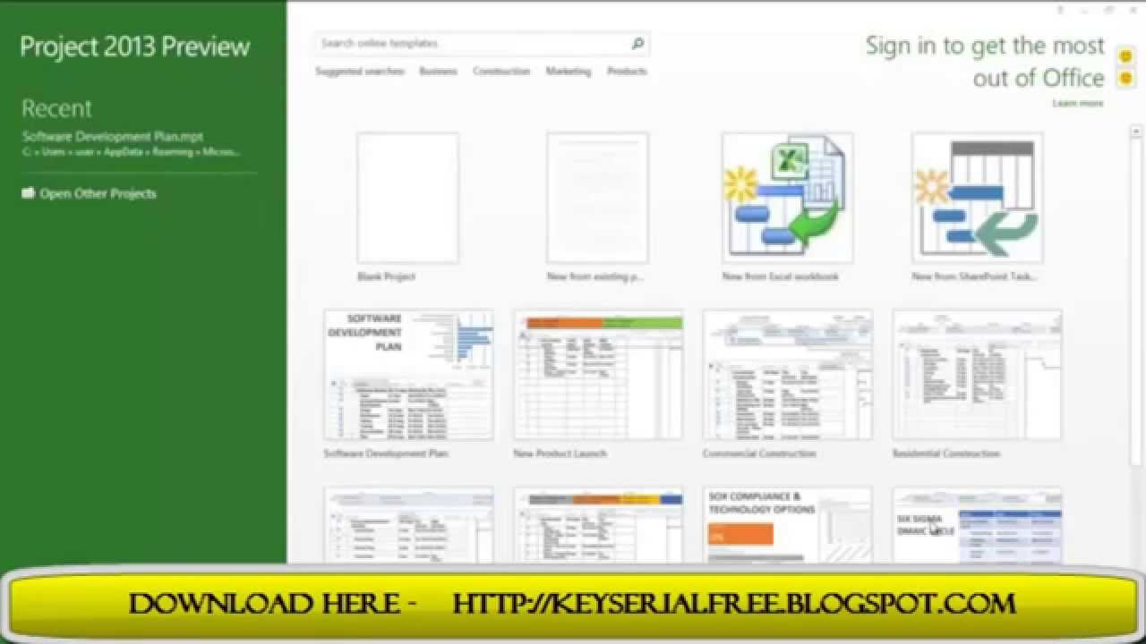 microsoft project 2013 manual free download