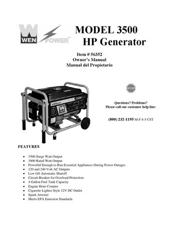 stoeger model 3500 owners manual
