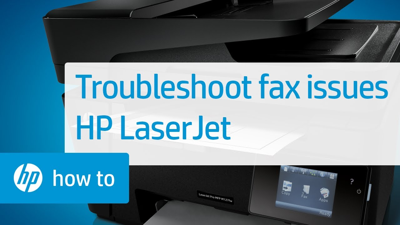 receiving manual fax on hp